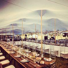 White stretch tent www.eventsandtents.co.za