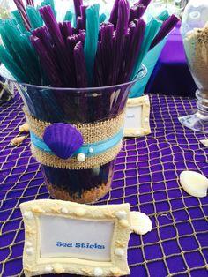Under the Sea/ Mermaid Candy Table #laniisthree