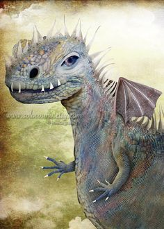 ACEO ATC Domino Artists Trading Card Lavender Dragon  by solocosmo