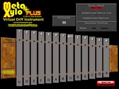 This is a great virtual orff instrument! You can take out bars, place the instrument in any key, record an ostinato, and change it to a pre-set pentatonic.