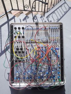 MATRIXSYNTH: Portable Buchla 200r System With Case Previously O...