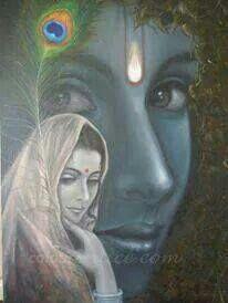 Radhy radhy..  (Refrain) Oh Radhika! O Krsna! O Radhika! There is separation without You, O Kesava!