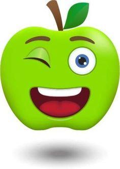 View album on Yandex. Diy And Crafts, Crafts For Kids, Funny Fruit, School Frame, Apple My, Busy Book, Fruit Art, Smileys, Kids Corner