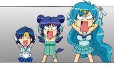 Sailor Moon - Tokyo Mew Mew - Mermaid Melody Pichi Pichi Pitch