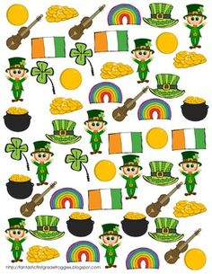 Find, Tally and Graph- St. Patrick's Day