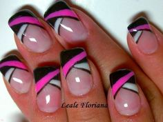 Unique Nail Art Design Ideas For 2014 | See more nail designs at http://www.nailsss.com/french-nails/2/