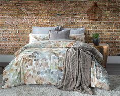 Fine bedding for winter cocooning. - Get it Joburg North Brushed Cotton Sheets, Make Your Bed, Stay Warm, Cosy, Comforters, Bedding, How To Get, Blanket, Winter