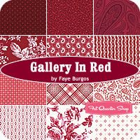 Gallery in Red Fat Quarter Bundle Faye Burgos for Marcus Brothers Fabrics  These would be wonderful!