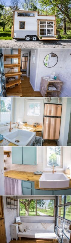 A beautiful modern tiny house, available for sale in Zionsville, Indiana, for just $35,000!