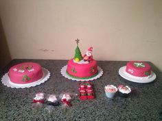 bolos natalinos!