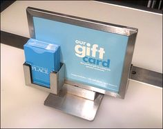 Children's Place Gift Card Pocket – Fixtures Close Up Gift Card Displays, Price Tag Design, Communication, Branded Gifts, Signage Design, Card Holder, Retail, Display Stands, Display Ideas