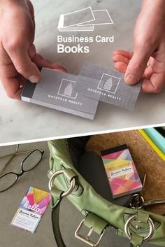 No More Fumbling For Business Cards Or Having With Bent Corners NEW