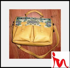 Pu bag with tapesserie from  Moda @ Desire