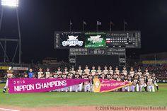 北海道日本ハムファイターズが10年ぶり3度目の日本一に輝く。