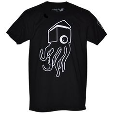 "Casas Ink Classic C Monster Black Tee - Casas Ink - Rep Casas Ink with a classic tee. The ""C"" Monster t-shirt is part of the Classic Casas Ink Collection. The ""C"" Monster is also available in white on a black shirt."