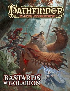 Bastards of Golarion - Pathfinder Player Companion - Sphärenmeisters Spiele