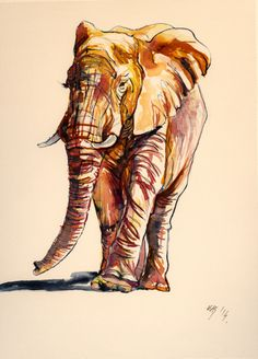 ARTFINDER: Elephant by Kovács Anna Brigitta -