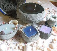 i love making sand candles!