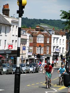South Street, Dorking, Surrey, England. I loved this little town!