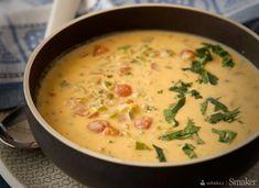Zupa serowa w stylu meksykańskim