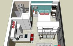 Cozinha Americana para Kitnet