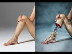 ▶ How to Photoshop Manipulation Tutorial of leg Photo - YouTube