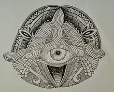Indian eye, pattern