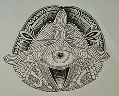 Indian eye, pattern