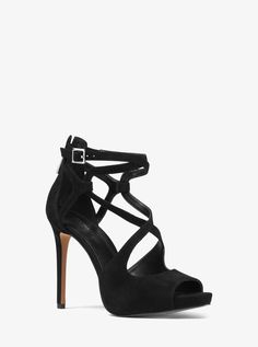 MICHAEL KORS Catia Suede Sandal. #michaelkors #shoes #