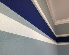 Amazing Boys Bedroom Paint Color Schemes : Amazing Contemporary Kids Room White And Blue Painting Ideas