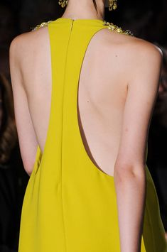 exaggerated racerback, gucci s/s 2013