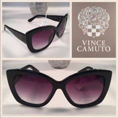 SALEVince Camuto Oversize CatEye Sunglasses SALE - TONIGHT ONLY Authentic Vince Camuto CatEye Sunglasses. No pouch nor case Vince Camuto Accessories Sunglasses