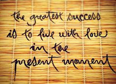 Success: A New Definition by Lois Shannon
