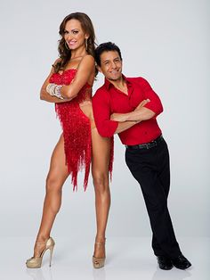 FIRST LOOK: Check Out Dancing with the Stars Season 21's Official Pairs Portraits! | Karina Smirnoff and Victor Espinoza |