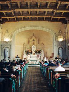 Shannon Leahy Events - Carnival Inspired Wedding - San Rafael - Ceremony - Church