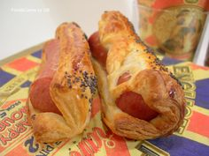 FOOD & CAKES: Salchichas de Frankfurt en hojaldre y salsa Ketchu...