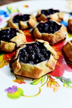 Mini Blueberry Galettes - The Pioneer Woman
