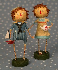 Look what I found on #zulily! Andy & Annie Figurine Set by ESC and Company, Inc. #zulilyfinds