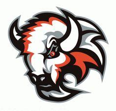 Basingstoke Bison 2007-08 hockey logotyp för EIHL