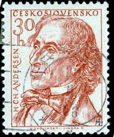Literary Stamps: Andersen, Hans Christian (1805 – 1875)