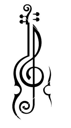 Violin And Treble cleff