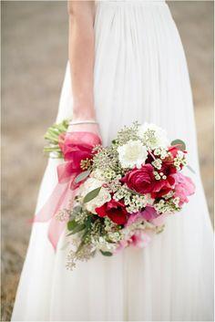 Such a stunning bouquet on the Le Magnifique Blog: Romantic Rustic Wedding Ideas