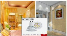 INITIAL-LED 5W GU10 lamp is an easy replacement for any old technology. Being the most energy-efficient lighting in the industry, savings can be immense with our 5W GU10 bulbs.http://j.mp/1AszyhG