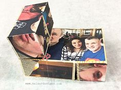 Photo cubes the flip around - video tutorial by Julie Fei-Fan Balzer - looks simple enough to do