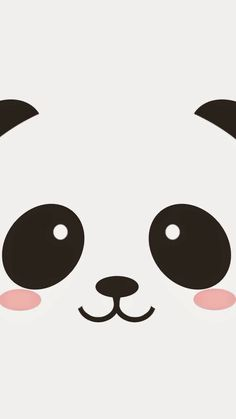 "Find and save images from the ""panda kawaii ^ Cute Panda Wallpaper, Bear Wallpaper, Kawaii Wallpaper, Iphone Wallpaper, We Bare Bears Wallpapers, Panda Wallpapers, Cute Cartoon Wallpapers, Pastell Wallpaper, Panda Mignon"