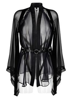 Darkest Star | Luxury Lingerie | Kimono & Detachable Harness – Darkest Star