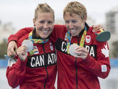 Lindsay Jennerich and Patricia Obee - silver women's lightweight double sculls Olympic Rowing, Olympic Games, O Canada, Olympic Champion, Rio Olympics 2016, August 12, Winter Games, Latest Breaking News, Rio 2016