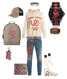 b2d94d7c Gucci errthang by tikitress on Polyvore featuring Gucci, men's fashion and  menswear #YoungMensFashion