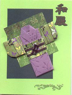 LoisSQuiltedKimonoCard by Oriental Stamp Art, via Flickr