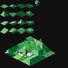 Here is a dump of some of my random pixel art. Pixel Art Background, Pip Boy, Pixel Games, Game Concept, Game Design, Art Tutorials, Art Images, Game Art, Illustration Art
